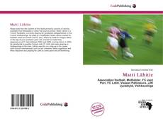 Bookcover of Matti Lähitie