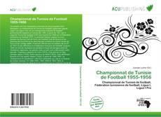 Bookcover of Championnat de Tunisie de Football 1955-1956