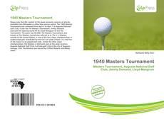 Portada del libro de 1940 Masters Tournament