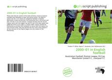 Bookcover of 2000–01 in English football