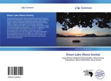 Bookcover of Dixon Lake (Nova Scotia)