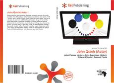 Bookcover of John Quick (Actor)
