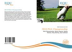 2010 PGA Championship的封面
