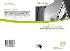 Buchcover von Haysboro, Calgary