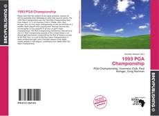 Portada del libro de 1993 PGA Championship