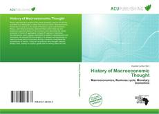 Bookcover of History of Macroeconomic Thought
