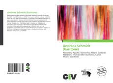 Andreas Schmidt (baritone)的封面