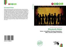 Bookcover of Elizabeth Rider