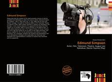 Bookcover of Edmund Simpson