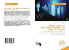 Bookcover of History of the National Register of Historic Places