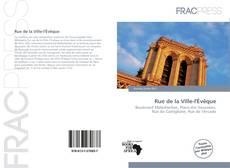 Bookcover of Rue de la Ville-l'Évêque