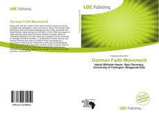 Portada del libro de German Faith Movement
