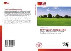 Portada del libro de 1997 Open Championship