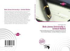 Copertina di Bob Jones University v. United States