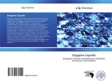 Couverture de Oxygène Liquide