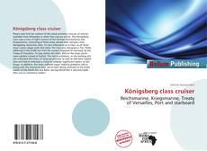 Buchcover von Königsberg class cruiser