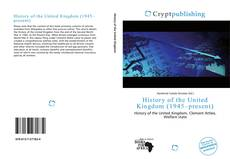 Bookcover of History of the United Kingdom (1945–present)