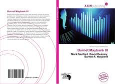 Buchcover von Burnet Maybank III