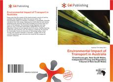 Bookcover of Environmental Impact of Transport in Australia