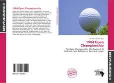 Portada del libro de 1984 Open Championship