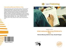 Bookcover of International Missing Children's Day