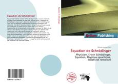 Bookcover of Équation de Schrödinger