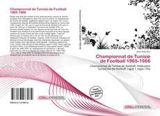 Bookcover of Championnat de Tunisie de Football 1965-1966