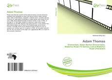 Bookcover of Adam Thomas