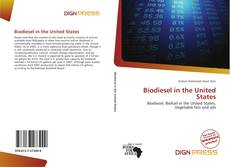 Bookcover of Biodiesel in the United States