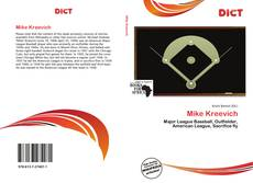 Bookcover of Mike Kreevich
