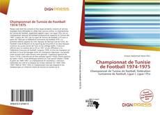 Copertina di Championnat de Tunisie de Football 1974-1975