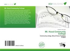 Bookcover of Mt. Hood Community College