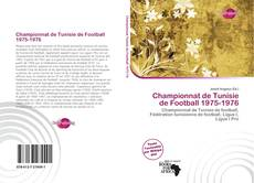 Bookcover of Championnat de Tunisie de Football 1975-1976
