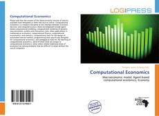 Bookcover of Computational Economics