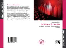 Bookcover of Business Education