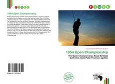 1954 Open Championship的封面