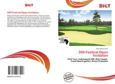 Bookcover of 500 Festival Open Invitation