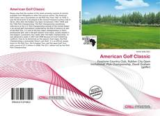 Bookcover of American Golf Classic