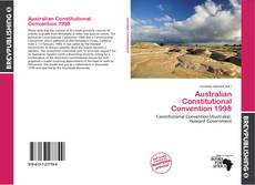 Capa do livro de Australian Constitutional Convention 1998