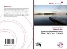 Buchcover von Blöndulón