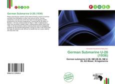 German Submarine U-26 (1936)的封面