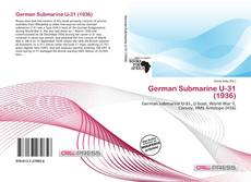 Capa do livro de German Submarine U-31 (1936)