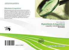 Bookcover of Hypostasis (Linguistics)