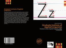 Bookcover of Graduate Institute of Applied Linguistics