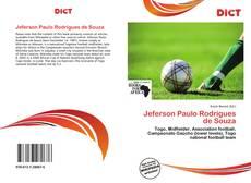 Jeferson Paulo Rodrigues de Souza的封面