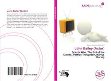 Buchcover von John Bailey (Actor)