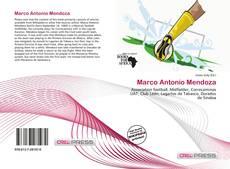 Portada del libro de Marco Antonio Mendoza