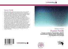 Bookcover of Fusion Froide