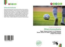 Bookcover of Ghani Animofoshe