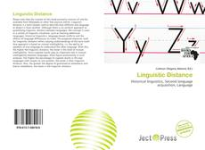 Bookcover of Linguistic Distance
